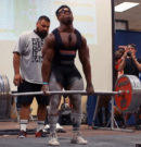Russel Orhii totals 792.5kg @ 83kg, 21.5kg below the world record