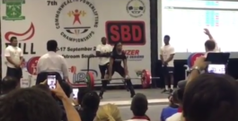 Joy Nnamani deadlifts 200kg @ <57kg for a new open world record